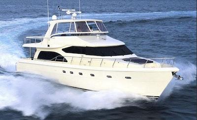 Hampton 700 Motor Yacht For Sale