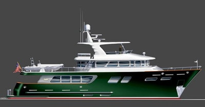 Northern Marine 100 Tri-Deck Expedition Yacht For Sale