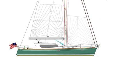 Tartan 455 sailboat