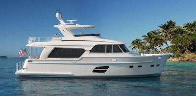 endurance 590 profile - hampton yachts