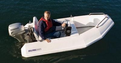 bullfrog boats 10 yacht tender